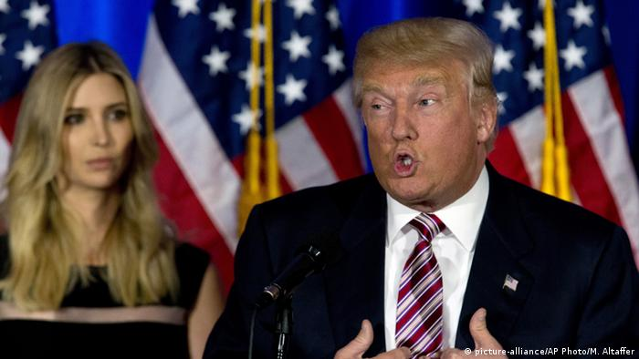 USA Präsidentschaftskandidat Donald Trump (picture-alliance/AP Photo/M. Altaffer)