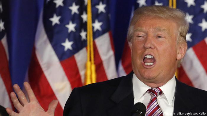 USA Präsidentschaftskandidat Donald Trump