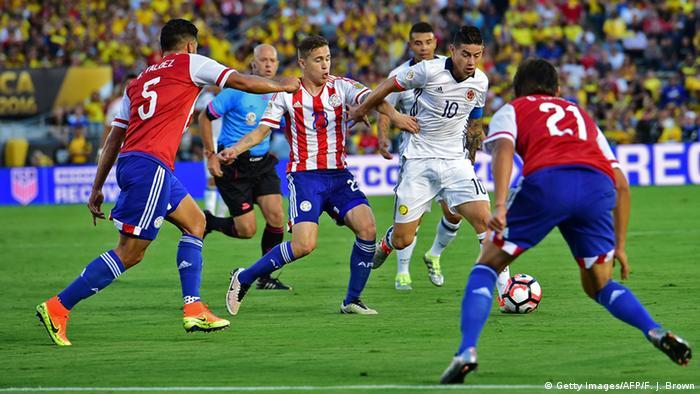 Fußball Kolumbien - Paraguay
