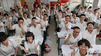 China matriculation exam in Gaokao