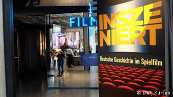 The entrance to the exhibition in Bonn