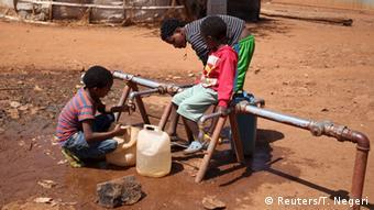 Äthiopien Flüchtlingslager Flüchtlinge aus Eritrea