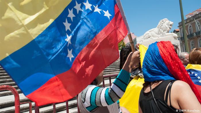 Demo für Venezuela Lissabon