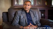 ARCHIV 2015 *** Moise Katumbi Chapwe, Governor of Democratic Republic of Congo's Katanga province, is pictured during an interview, on June 2, 2015 in Lubumbashi. AFP PHOTO / FEDERICO SCOPPA (Photo credit should read FEDERICO SCOPPA/AFP/Getty Images) © Getty Images/AFP/F. Scoppa