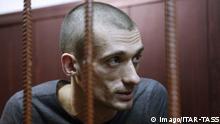 Pyotr Pavlensky Künstler hinter Gittern