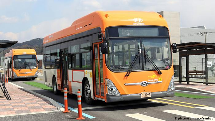 Südkorea Bus Rapid Transit in Sejong