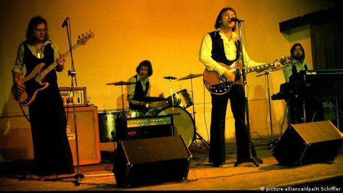Die englische Band Gerry & The Pacemakers in den 70er Jahren (Foto: picture-alliance/dpa/H.Schiffler)