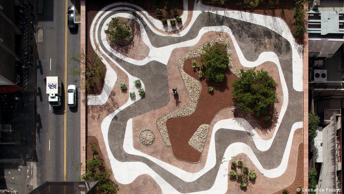 Garden von Banco Safra in São Paulo