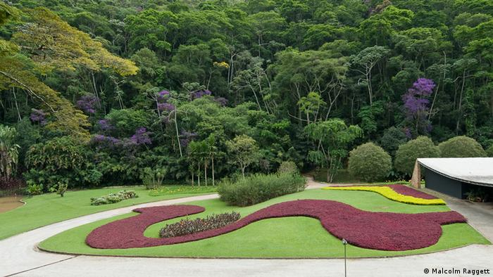 Garten des Villa Cavenellas