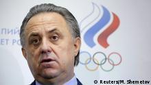 Vitaly Mutko Sportminister Russland