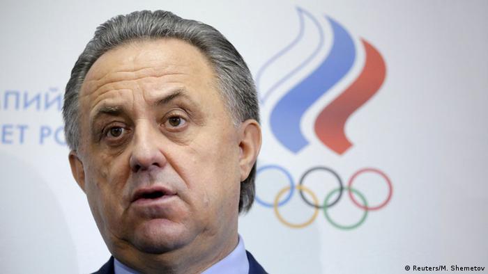 Vitaly Mutko Sportminister Russland Foto: Reuters/M. Shemetov