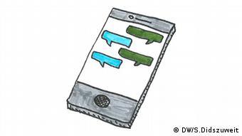 llustration von Simon Didszuweit Innovation für Dialog