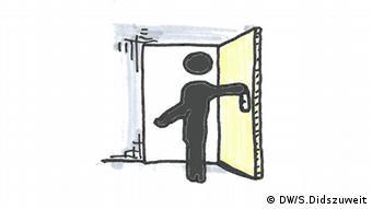 llustration von Simon Didszuweit Transparenz und Offenheit