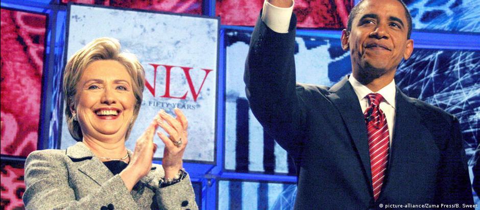 Obama declara apoio a Hillary Clinton para presidência dos ...