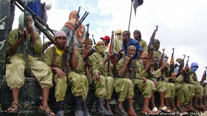 Somalia Mogadischu al-Shabaab Kämpfer