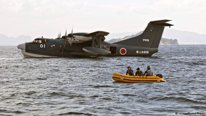 Japan SAR-Flugzeug ShinMaywa US-2 (Imago/Zuma Press)