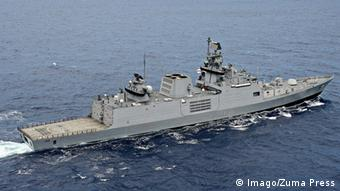 Indien Fregatte INS Sahyadri