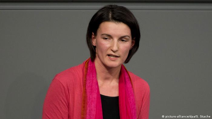 Deutschland Bundestag Irene Mihalic