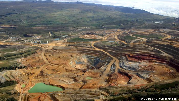 Foto: A picture of Yanacocha mine.