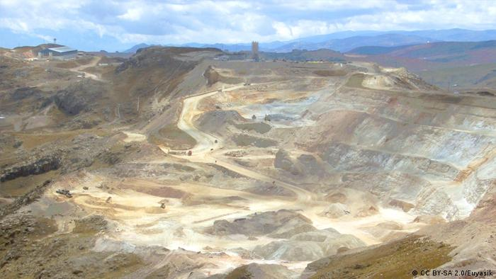 Photo: A picture of Yanacocha goldmine.