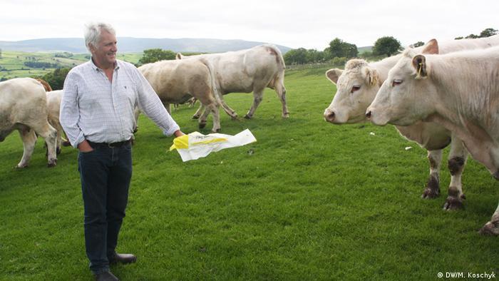 Welsh Farmer Glynn Roberts (Source: M.Koschyk/DW)