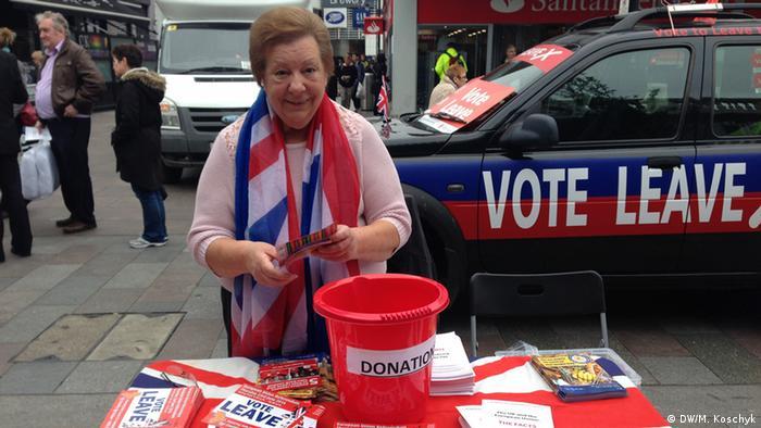 С'ю Конеллі агітує голосувати за вихід з ЄС