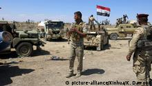 Syrien Falludscha Hashd Shaabi Kämpfer
