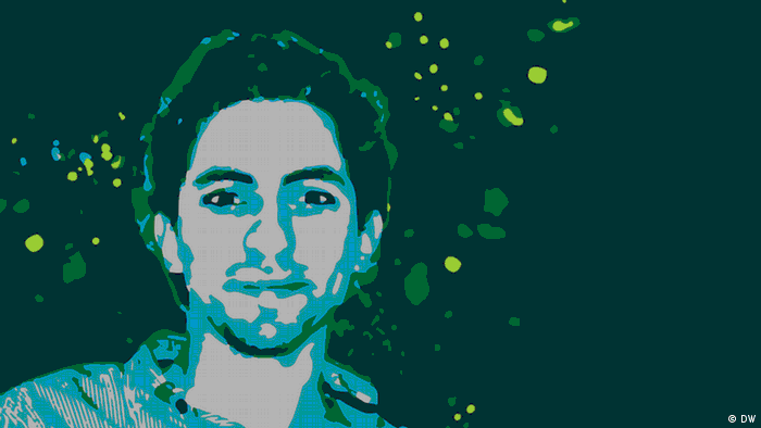 Illustration of Raif Badawi
