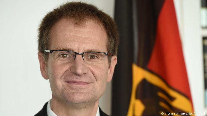 Deutschland Karlsruhe Generalbundesanwalt Peter Frank (picture-alliance/dpa/U. Deck)