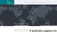 Screenshot The Global Vote