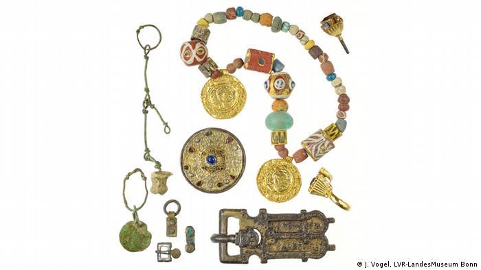 Комплект ювелирных украшений. Первая половина 7-го века нашей эры