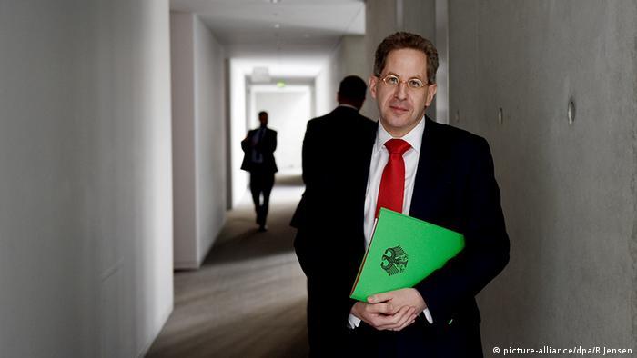 Verfassungsschutzpräsident Hans-Georg Maaßen Foto: Rainer Jensen/dpa