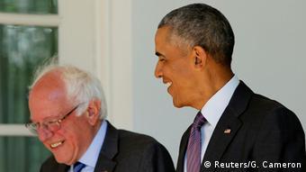 USA, Barack Obama trifft Bernie Sanders