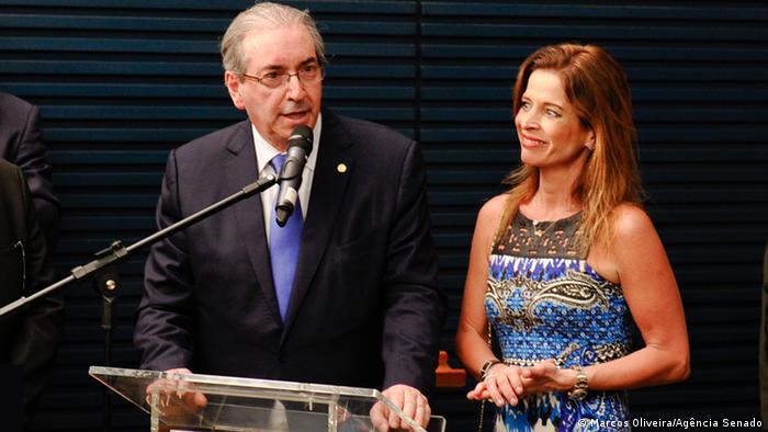 Brasilien Eduardo Cunha und Claudia Cruz