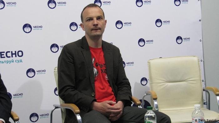 Колишній голова антикорупційного комітету Верховної Ради Єгор Соболєв
