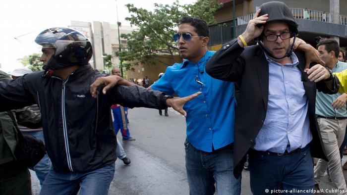 Venezuela Julio Borges Bodyguards Caracas