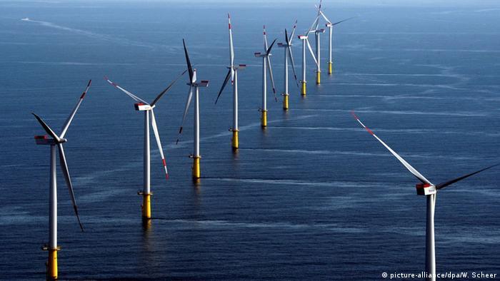 Offshore wind park Meerwind Süd/Ost