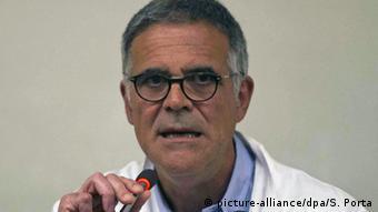 Berlusconi's personal doctor Alberto Zangrill