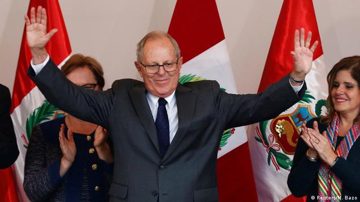 Peruvian president-elect Pedro Pablo Kuczynski