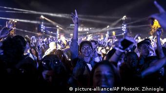 Frankreich Euro 2016 David Guetta Konzert in Paris