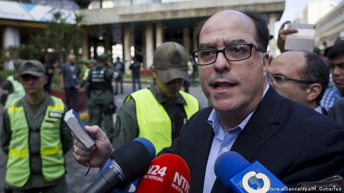 Venezuela Julio Borges (picture-alliance/dpa/M. Gutierrez)