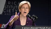 USA Präsidentschaftswahlkampf Senatorin Elizabeth Warren
