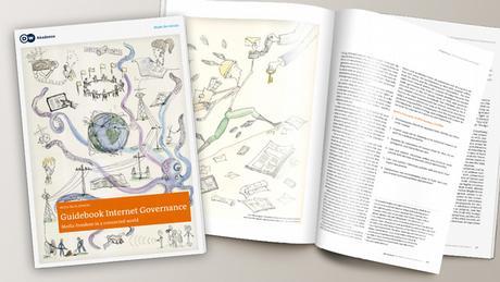 DW Akademie MockUp Guidebook und Broschüre