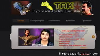 A screenshot from the TAK website
