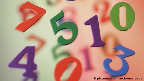 numbers jumbled together (picture-alliance/chromorange)