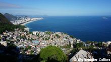 Sitie Park in Vidigal Rio de Janeiro Brasilien Aussicht