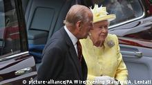Großbritannien London Queen feiert 90.Geburtstag mit Phillip