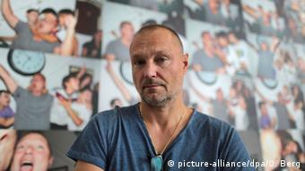 Juergen Teller at his exhibition Enjoy your Life in the Bundeskunsthalle