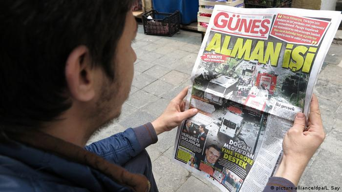 Günes front-page