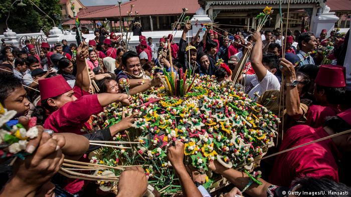 Indonesien Yogyakarta Fest des Fastenbrechens Eid El Fitr (Getty Images/U. Ifansasti)